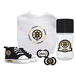 Baby Fanatic NHL Boston Bruins 5-Piece Gift Set