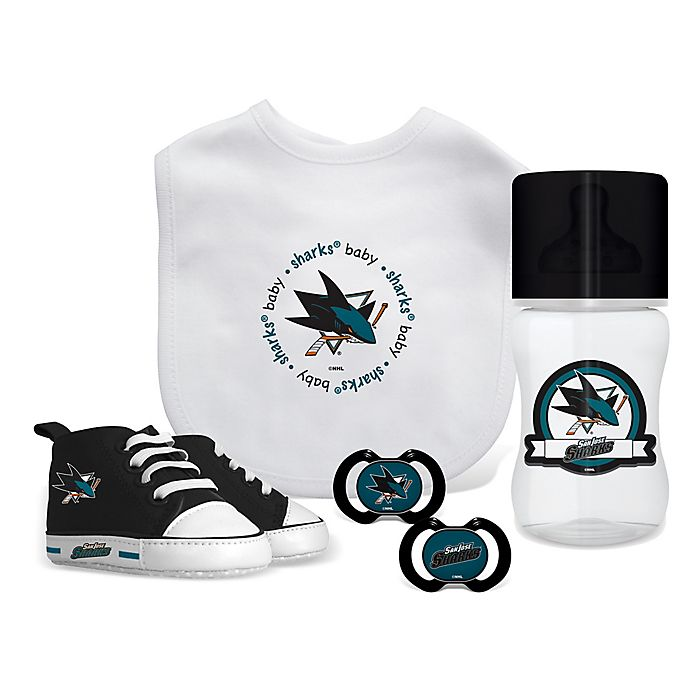 sale retailer 0e7d7 41a51 Baby Fanatic NHL San Jose Sharks 5-Piece Gift Set | buybuy BABY