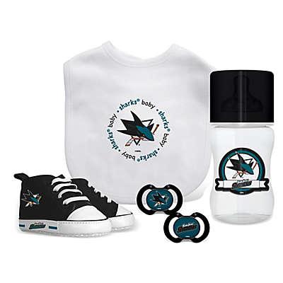 Baby Fanatic NHL San Jose Sharks 5-Piece Gift Set
