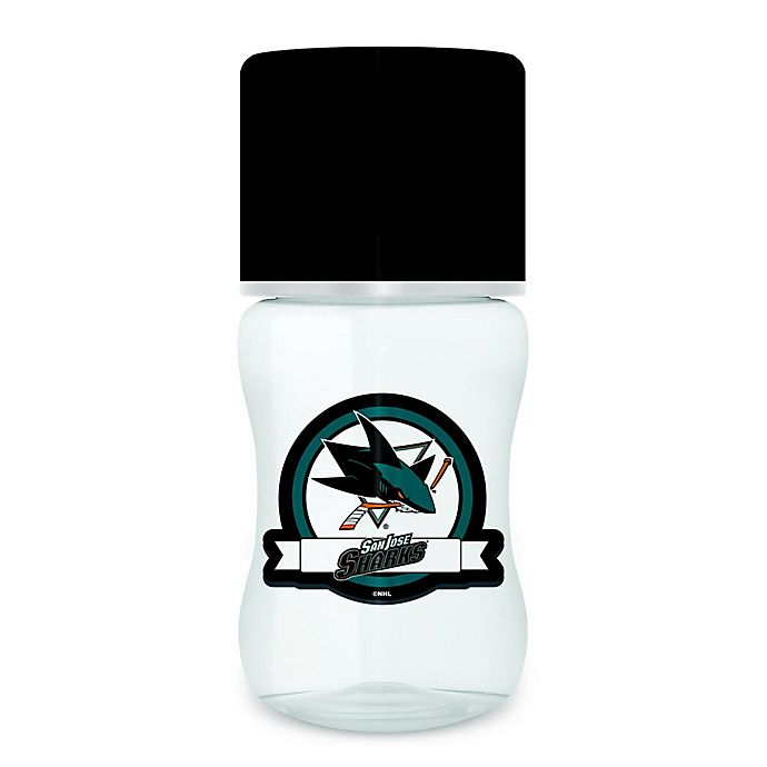 detailed look 6812b d0711 Baby Fanatic NHL San Jose Sharks 9 oz. Baby Bottle | Bed ...