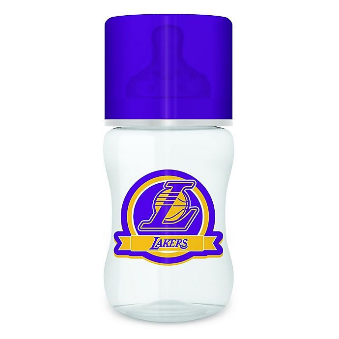 Alternate image 1 for Baby Fanatic NBA Los Angeles Lakers 9 oz. Baby Bottle
