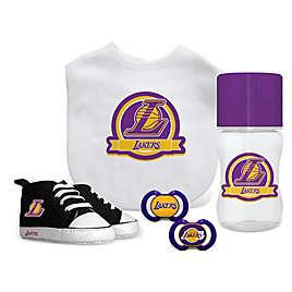 0b29b7cea Baby Fanatic NBA Los Angeles Lakers 5-Piece Gift Set
