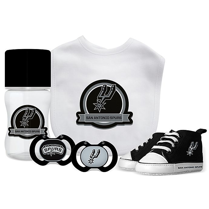 buy online f0cd0 968a2 Baby Fanatic NBA San Antonio Spurs 5-Piece Gift Set | buybuy ...