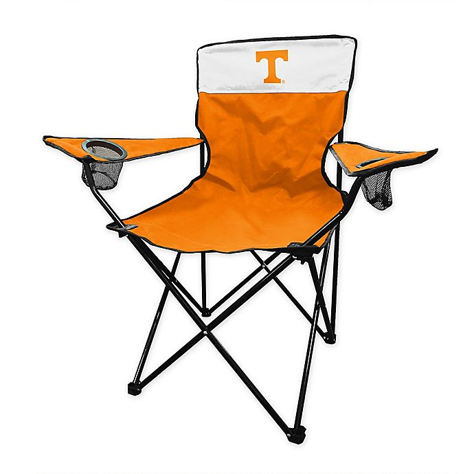 Alternate image 1 for University of Tennessee Legacy Folding Chair in Tangerine