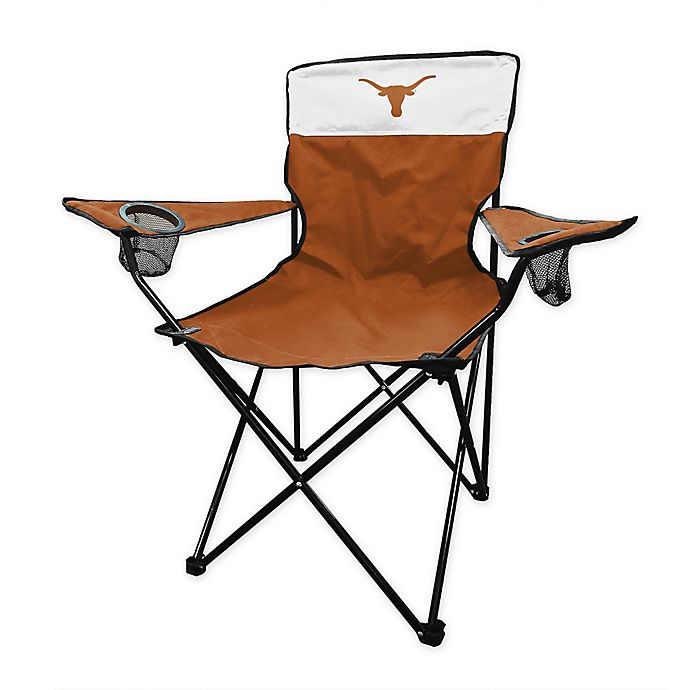 Alternate image 1 for University of Texas at Austin Legacy Folding Chair in Rust