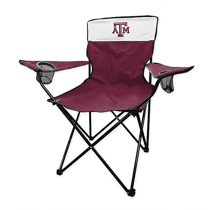 Alternate image 1 for Texas A&M University Legacy Folding Chair in Maroon