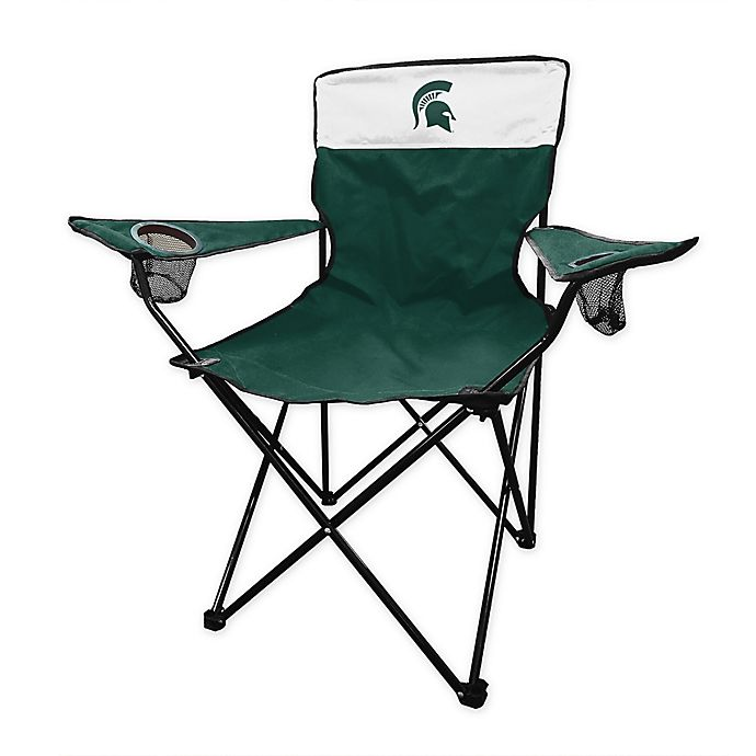Alternate image 1 for Michigan State University Legacy Folding Chair in Hunter