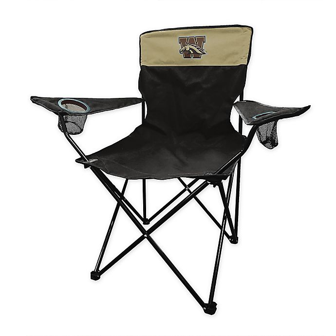 Alternate image 1 for Western Michigan University Legacy Folding Chair in Black