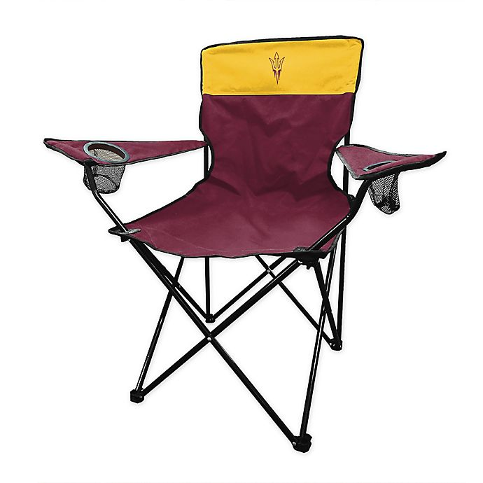 Alternate image 1 for Arizona State University Legacy Folding Chair in Maroon
