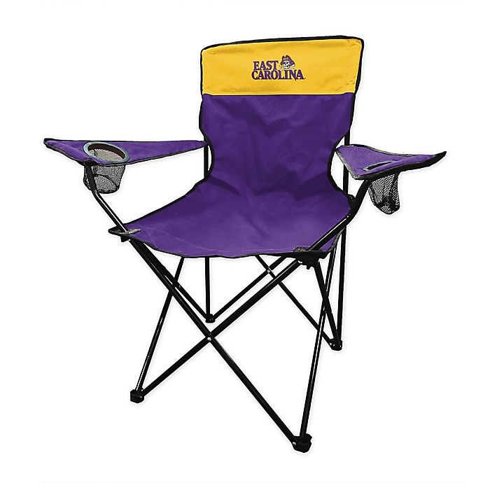 Alternate image 1 for East Carolina University Legacy Folding Chair in Purple