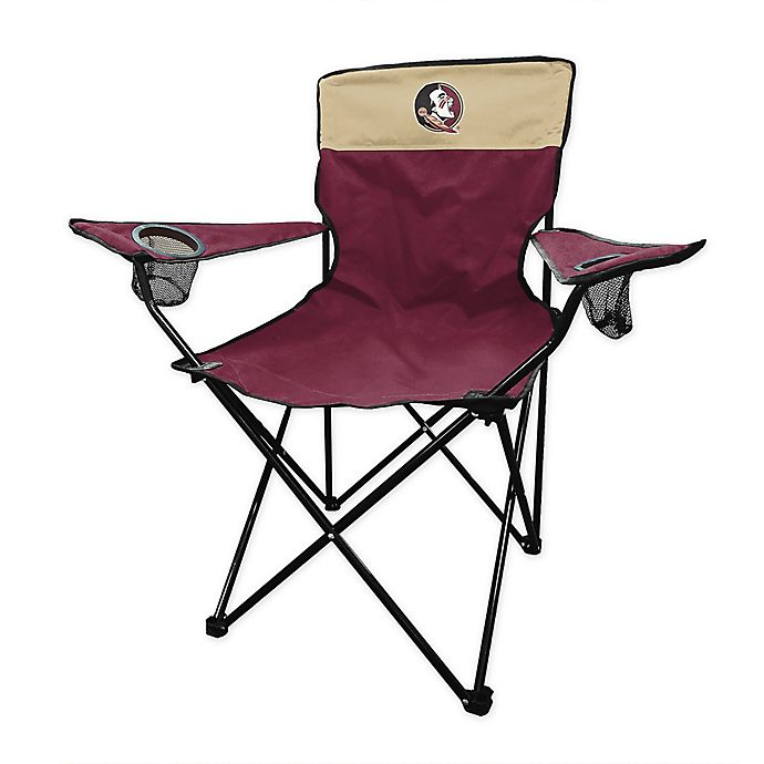 Alternate image 1 for Florida State University Legacy Folding Chair in Maroon