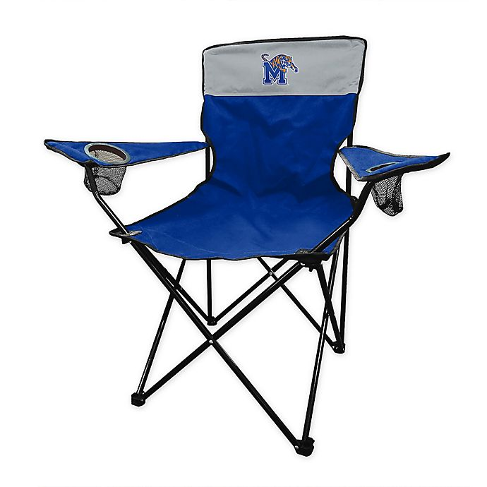 Alternate image 1 for University of Memphis Legacy Folding Chair in Royal