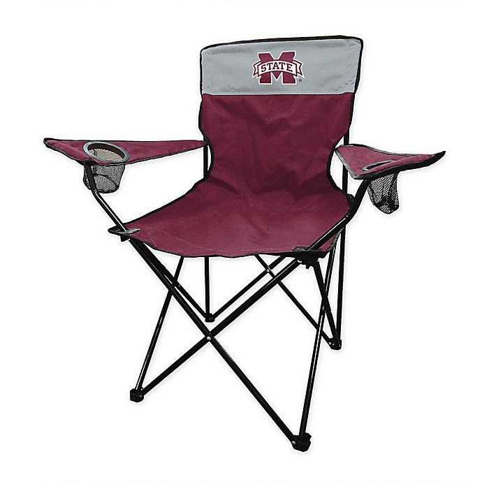Alternate image 1 for Mississippi State University Legacy Folding Chair