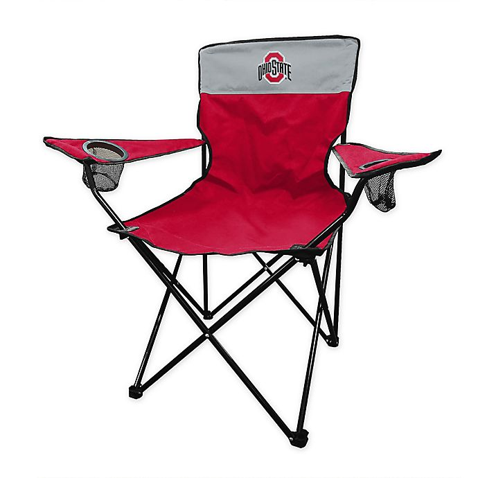Alternate image 1 for Ohio State University Legacy Folding Chair in Red