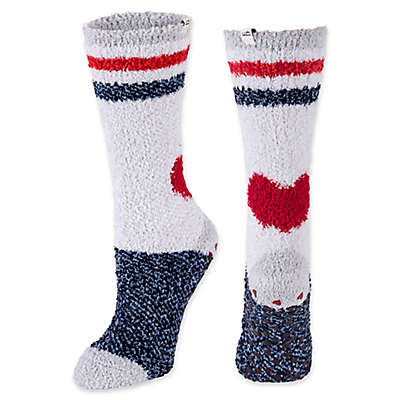 ED Ellen DeGeneres Heart Cozy Socks with Grippers