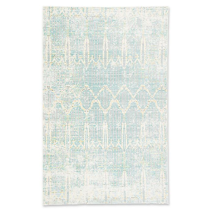 Alternate image 1 for Jaipur Ceres Salacia 3-Foot x 2-Foot  Rug in Blue/Silver