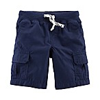 carter's® Size 3M Pull On Cargo Shorts in Navy