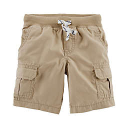 carter's® Pull On Cargo Shorts in Khaki