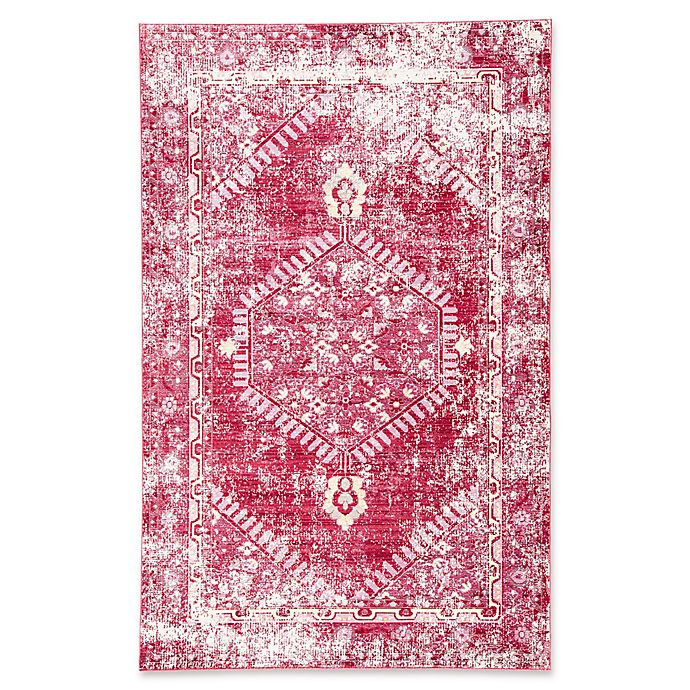 Alternate image 1 for Jaipur Ceres Eris 7-Foot 8-Inch x 10-Foot Area Rug in Red