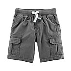 carter's® Size 3M Pull On Cargo Shorts in Grey