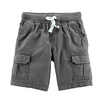 carter's® Pull On Cargo Shorts in Grey