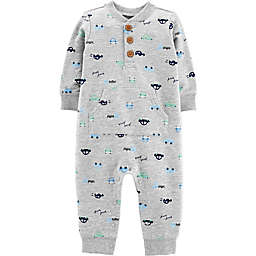 carter's® Car Coverall in Grey