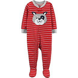 carter's® Dog Footed Pajamas in Red