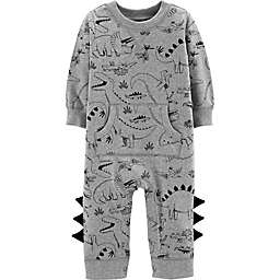 carter's® Dinosaur Coverall in Grey