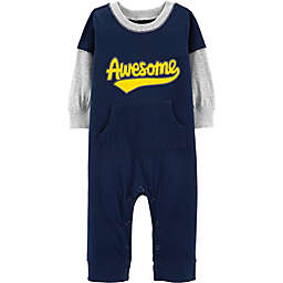 carter's® Awesome Coverall in Navy