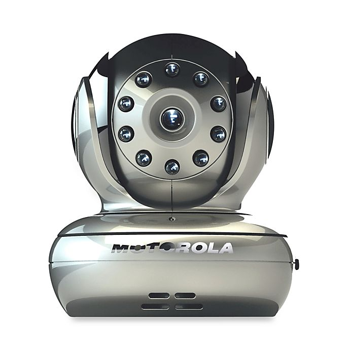 Alternate image 1 for Motorola® Blink1-S Baby Monitor with Wi-Fi Video Camera in Silver