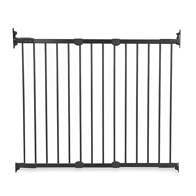 Alternate image 1 for KidCo® Angle Mount Safeway® Gate in Black