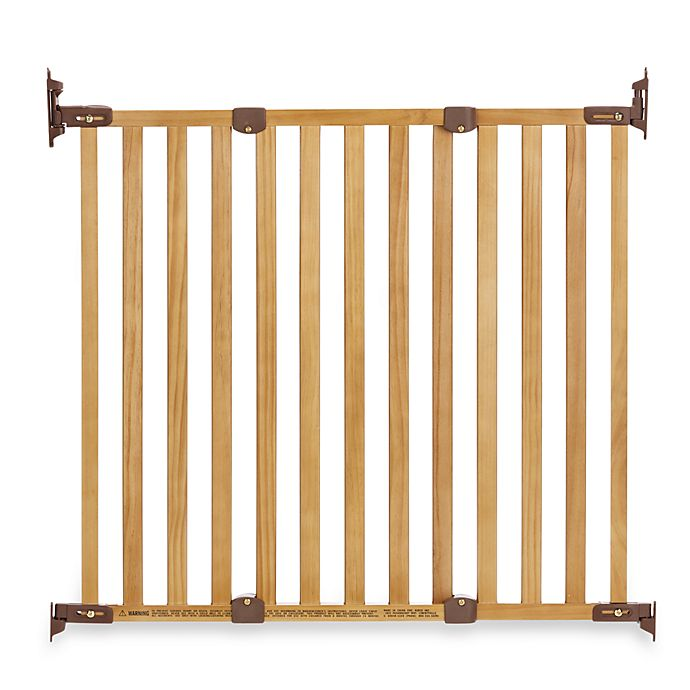 Kidco 174 Angle Mount Wood Safeway 174 Gate In Oak Bed Bath