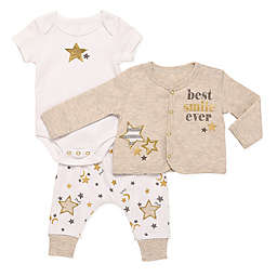 Baby Starters® 3-Piece You Are My Star Bodysuit, Cardigan, and Pant Set