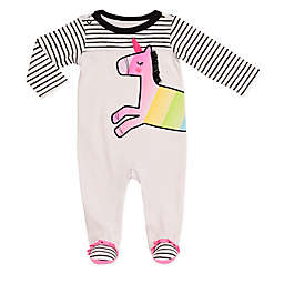 Baby Starters® Unicorn Footie in White