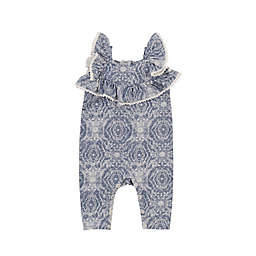 Jessica Simpson Tile Romper in China Blue