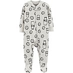 carter's® Size 3M Cookies Sleep & Play in Black/White