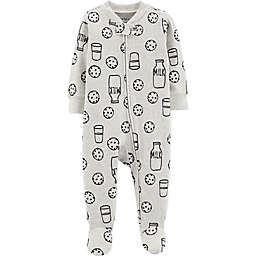 carter's® Cookies Sleep & Play in Black/White