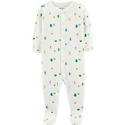 carter's® Monster Cotton Sleep & Play in Ivory