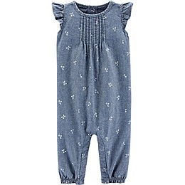 carter's® Chambray Romper