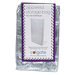 Zippered Crib Mattress Storage Bag in Clear by Colgate Mattress®