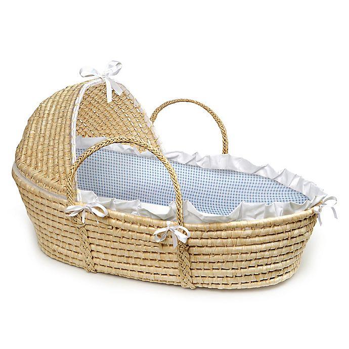 Alternate image 1 for Badger Basket® Maize Hooded Moses Basket