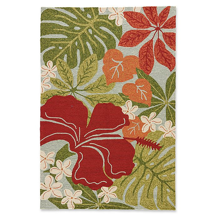 Alternate image 1 for Jaipur Rugs Coastal Lagoon Luau 2-Foot x 3-Foot Outdoor Accent Rug in Green