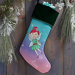 Fairy Personalized Christmas Stocking