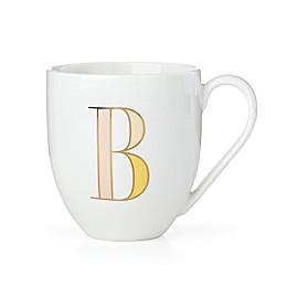 "kate spade new york It's Personal™ Monogrammed Letter ""B"" Mug"