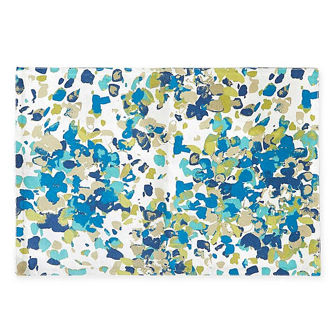 Alternate image 1 for Willa Placemats in Blue (Set of 4)