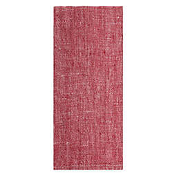 Artisanal Kitchen Supply® Solid Chambray Kitchen Towel in Red
