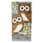 KitchenSmart® Colors Painterly Owls Kitchen Towel in Grey