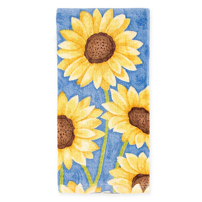 Colors Painterly Sunflowers Kitchen