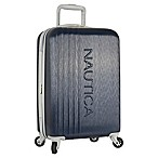 Nautica® Life Boat 20-Inch Hardside Spinner Carry On Luggage in Navy/Grey