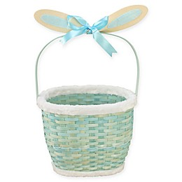 Wicker Bunny-Inspired Easter Basket